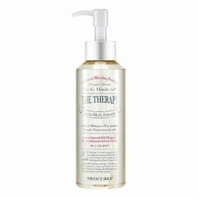 Dầu Tẩy Trang Đa Năng 2 Trong 1 THE THERAPY SERUM INFUSED OIL CLEANSER