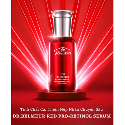 Tinh Chất Cải Thiện Nếp Nhăn DR.BELMEUR RED PRO-RETINOL SERUM 50ml