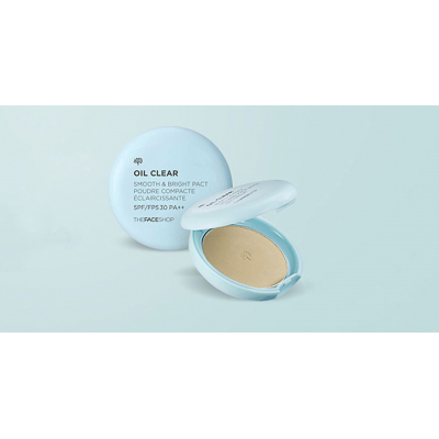 Phấn Phủ TFS OIL CLEAR SMOOTH&BRIGHT PACT SPF30 PA++