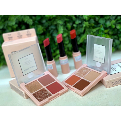 PHẤN MẮT 4 Ô ROSY NUDE EDITION  ( NEW )